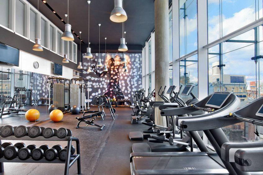 W London Luxury Hotel - London, United Kingdom - FIT Gym View