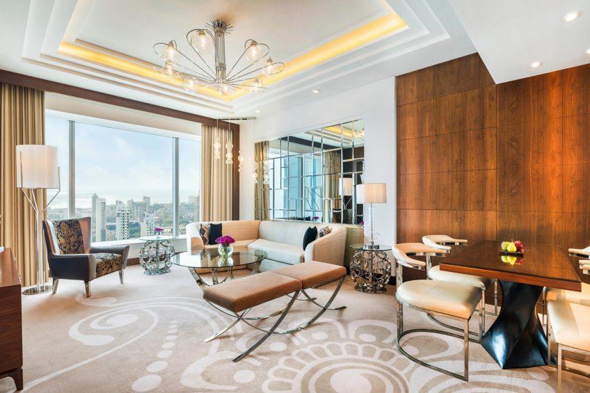 The St. Regis Mumbai Luxury Hotel - Mumbai, India - Residence Living Room