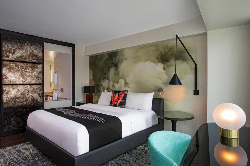 W Boston Luxury Hotel - Boston, MA, USA - WOW Suite King Bedroom
