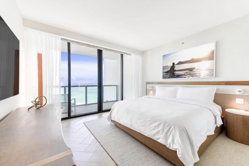 W South Beach Luxury Hotel - Miami Beach, FL, USA - Sanctuary Suite Bedroom King