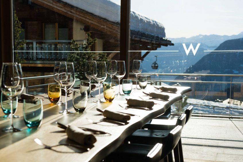 W Verbier Luxury Hotel - Verbier, Switzerland - Haute Outdoor Cuisine