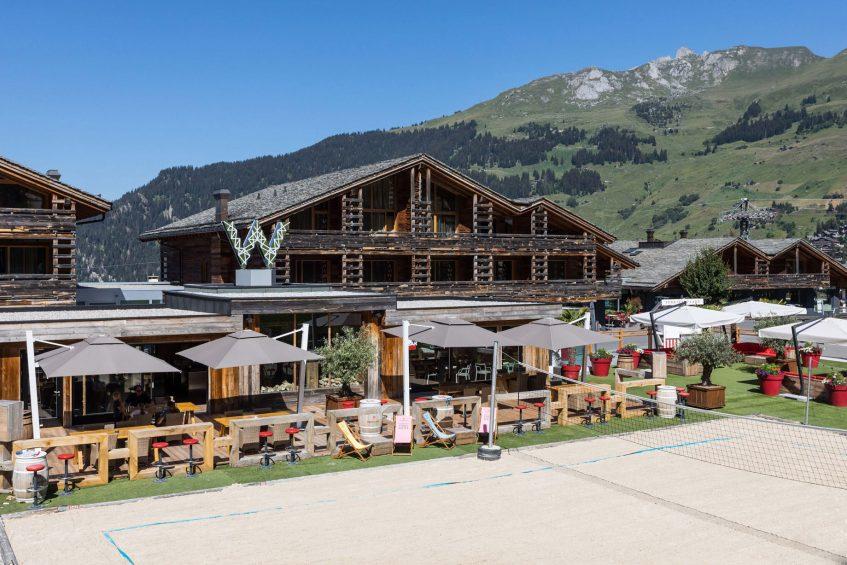 W Verbier Luxury Hotel - Verbier, Switzerland - La Plage