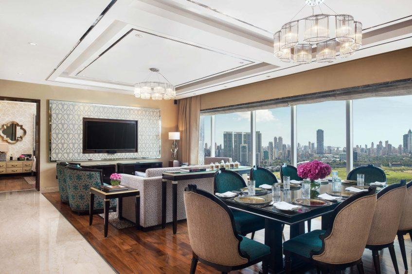 The St. Regis Mumbai Luxury Hotel - Mumbai, India - Metropolitan Suite Dining Area