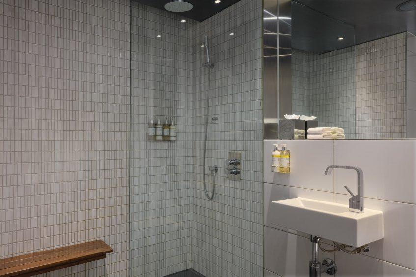 W London Luxury Hotel - London, United Kingdom - Away Spa Changing Room