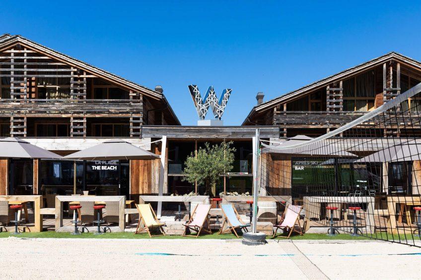 W Verbier Luxury Hotel - Verbier, Switzerland - La Plage Exterior