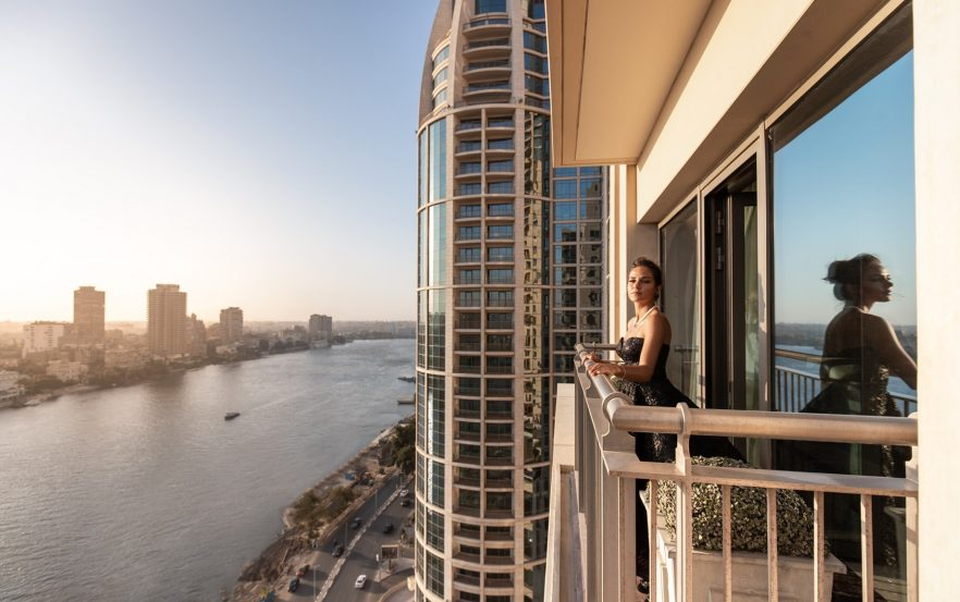 The St. Regis Cairo Luxury Hotel - Cairo, Egypt - Luxurious Deck Nile River View