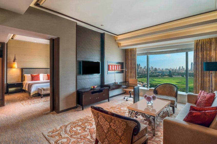 The St. Regis Mumbai Luxury Hotel - Mumbai, India - Caroline Astor Suite Living Room
