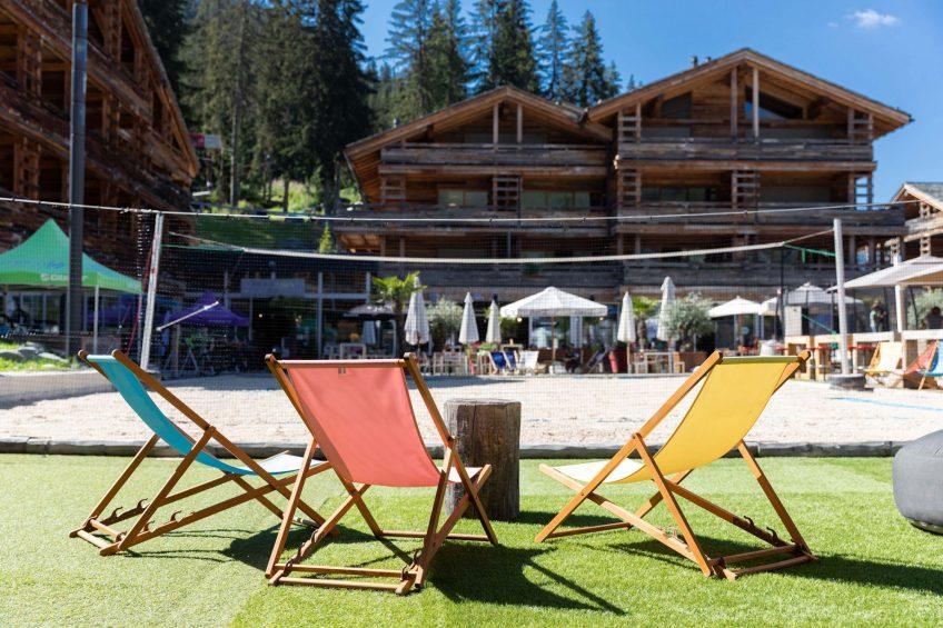 W Verbier Luxury Hotel - Verbier, Switzerland - La Plage Chairs