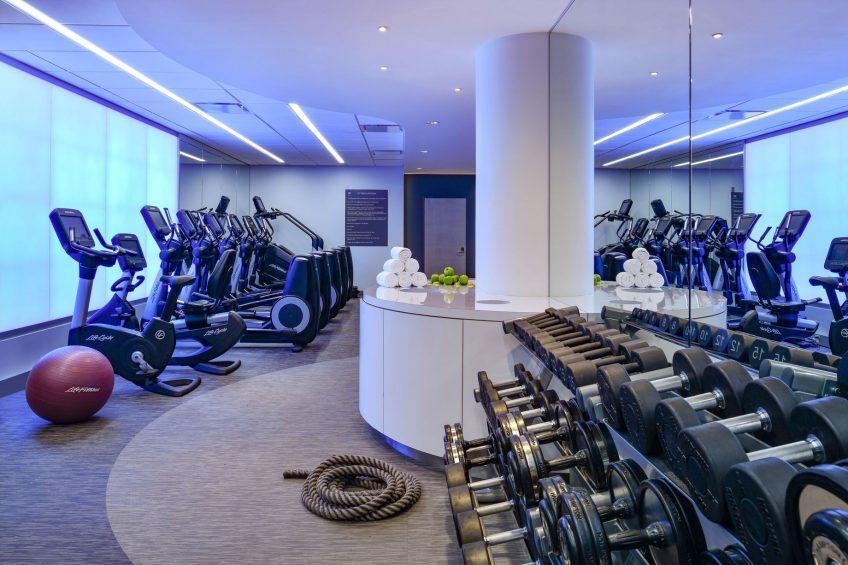 W Boston Luxury Hotel - Boston, MA, USA - FIT Gym