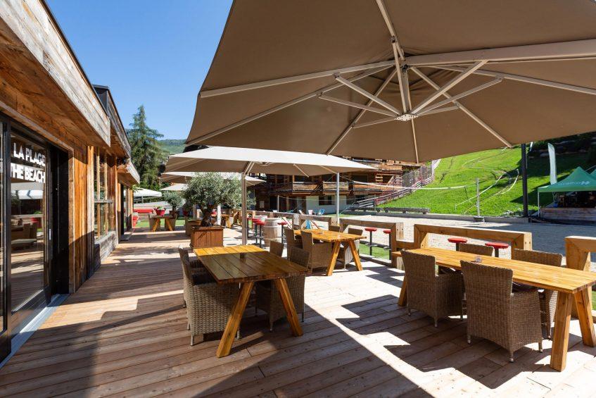 W Verbier Luxury Hotel - Verbier, Switzerland - La Plage Terrace