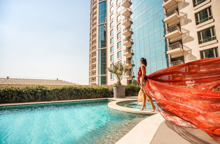 The St. Regis Cairo Luxury Hotel - Cairo, Egypt - Glamour at the Pool