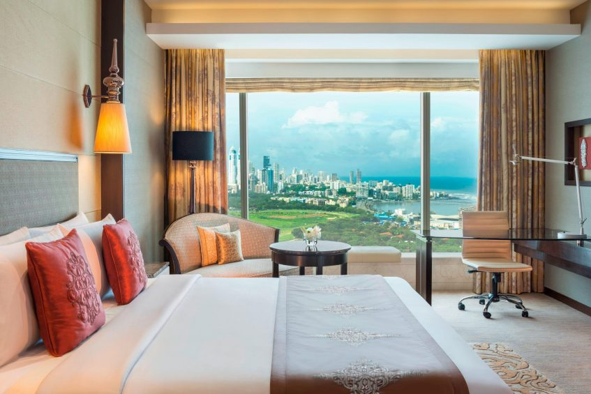 The St. Regis Mumbai Luxury Hotel - Mumbai, India - Grand Deluxe Room City View