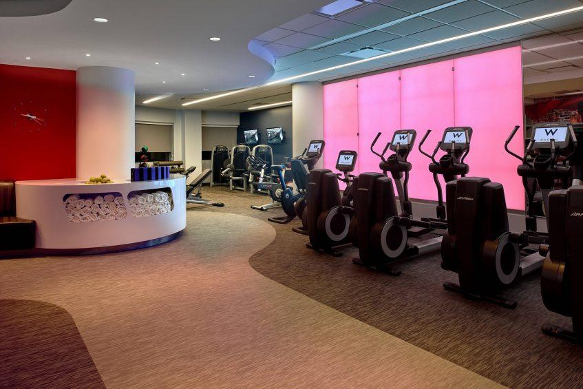 W Boston Luxury Hotel - Boston, MA, USA - FIT Gym Interior