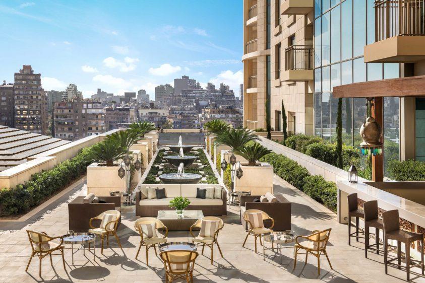 The St. Regis Cairo Luxury Hotel - Cairo, Egypt - Sirocco Pool Restaurant & Bar