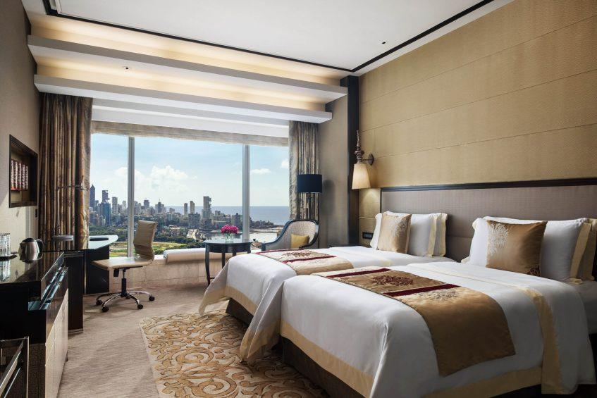 The St. Regis Mumbai Luxury Hotel - Mumbai, India - Guest Room Twin Beds