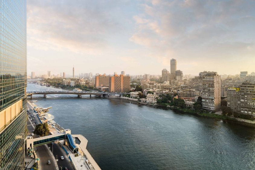 The St. Regis Cairo Luxury Hotel - Cairo, Egypt - Nile River View