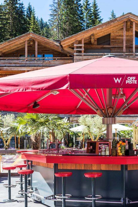 W Verbier Luxury Hotel - Verbier, Switzerland - W Off Piste Bar Summer