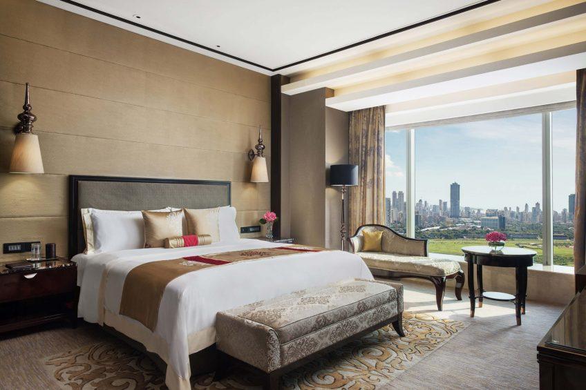 The St. Regis Mumbai Luxury Hotel - Mumbai, India - Metropolitan Suite King Bedroom