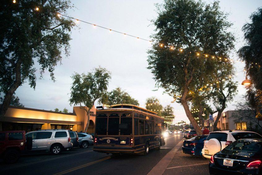 W Scottsdale Luxury Hotel - Scottsdale, AZ, USA - Old Town Scottsdale Street