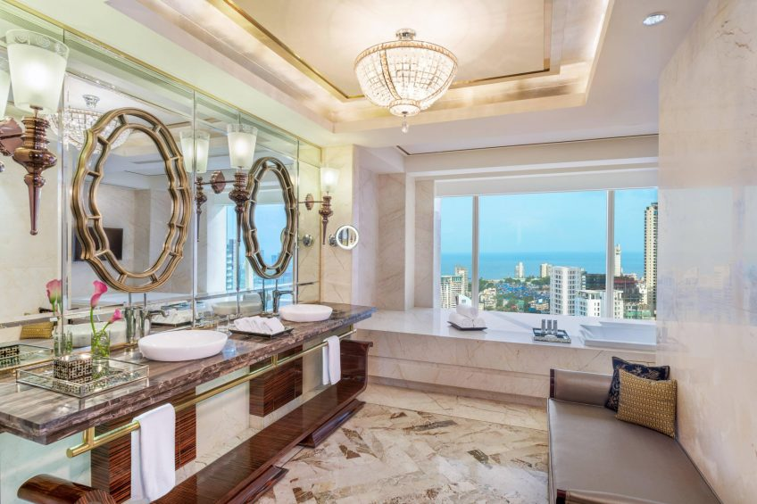 The St. Regis Mumbai Luxury Hotel - Mumbai, India - Presidential Suite Bathroom