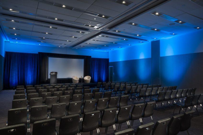 W Boston Luxury Hotel - Boston, MA, USA - Great Room Theater Setup