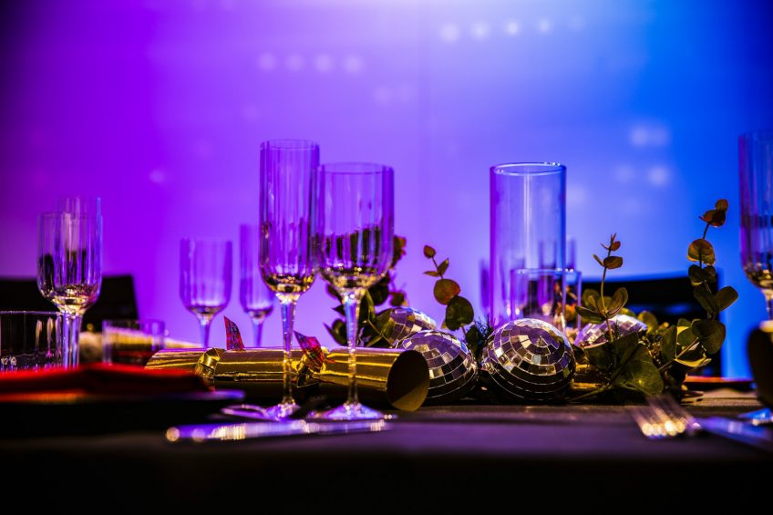 W London Luxury Hotel - London, United Kingdom - Studio Table Setting