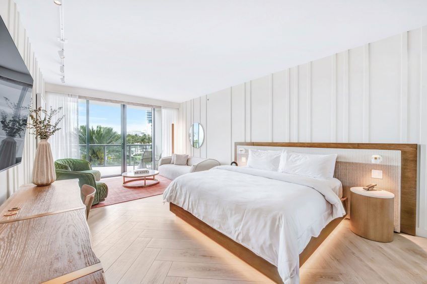 W South Beach Luxury Hotel - Miami Beach, FL, USA - Splendid Studio
