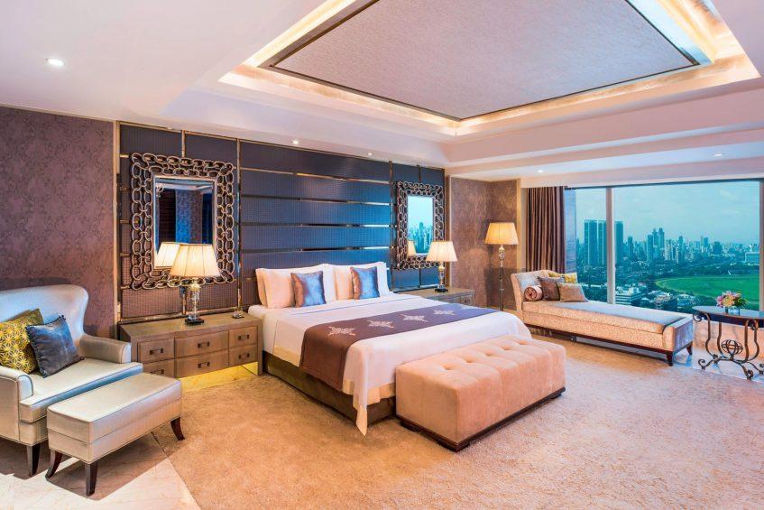 The St. Regis Mumbai Luxury Hotel - Mumbai, India - Presidential Suite Bedroom