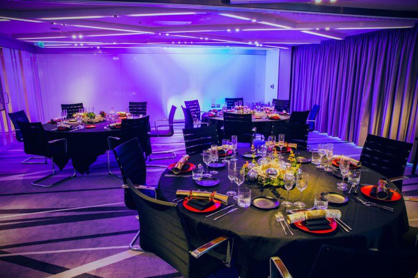 W London Luxury Hotel - London, United Kingdom - Studio Room Banquet Setup