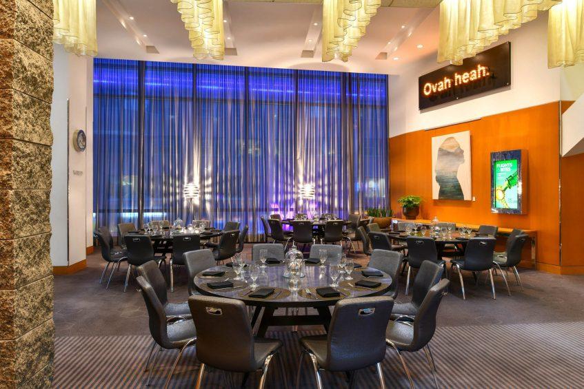 W Boston Luxury Hotel - Boston, MA, USA - Pre Function Space Tables