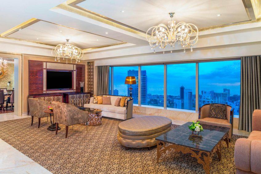 The St. Regis Mumbai Luxury Hotel - Mumbai, India - Presidential Suite Living Room