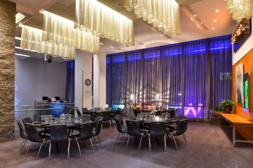 W Boston Luxury Hotel - Boston, MA, USA - Pre Function Space