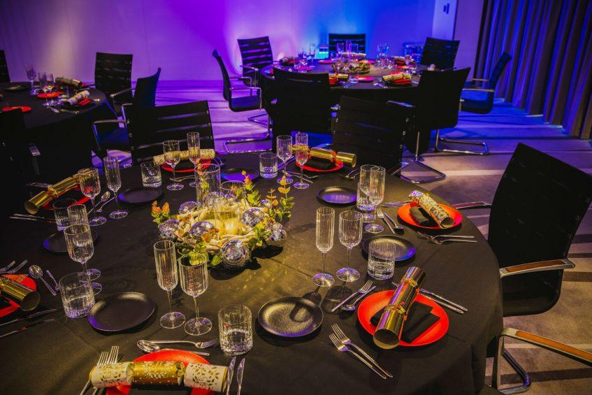 W London Luxury Hotel - London, United Kingdom - Studio Banquet Setup
