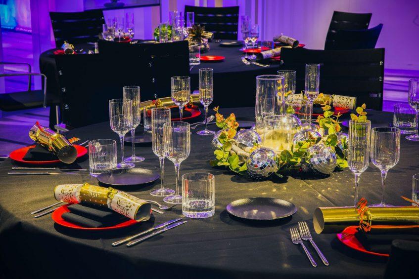 W London Luxury Hotel - London, United Kingdom - Studio Banquet Table Settting