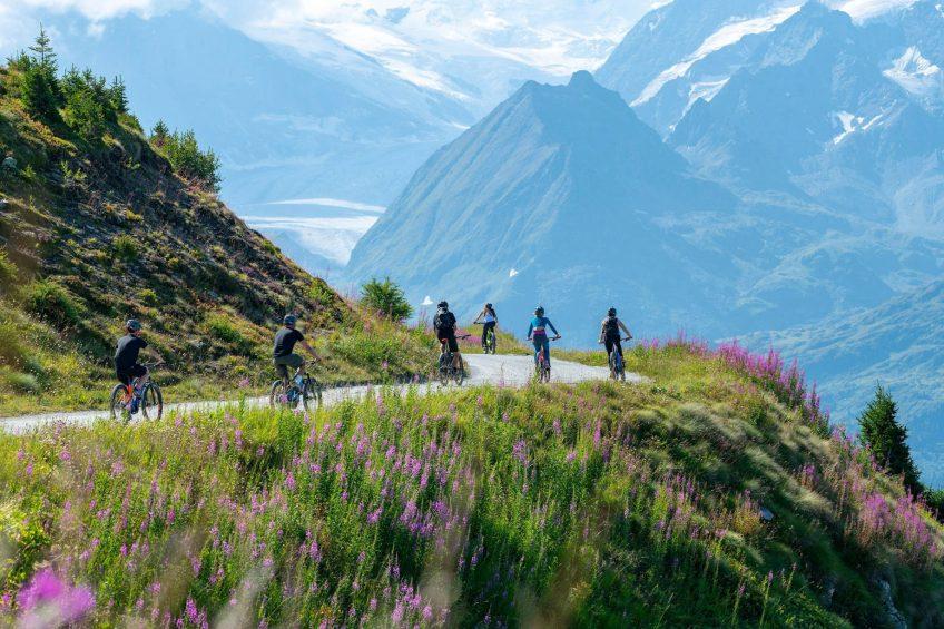W Verbier Luxury Hotel - Verbier, Switzerland - Summer Biking