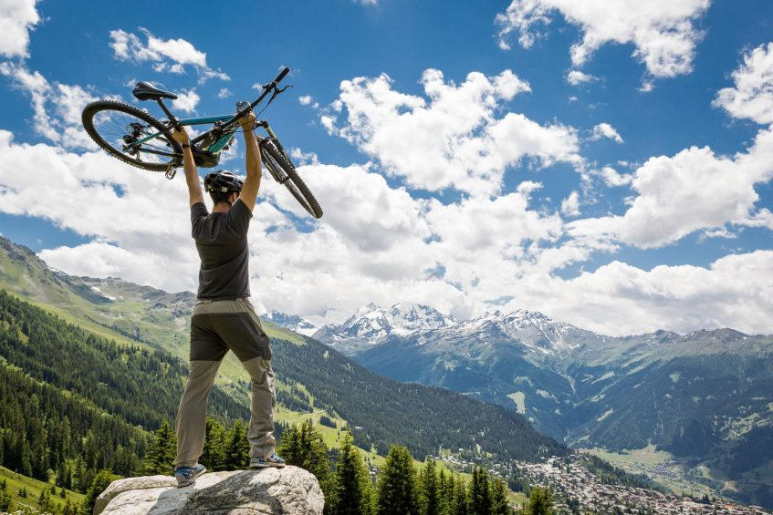 W Verbier Luxury Hotel - Verbier, Switzerland - Mountain Biking