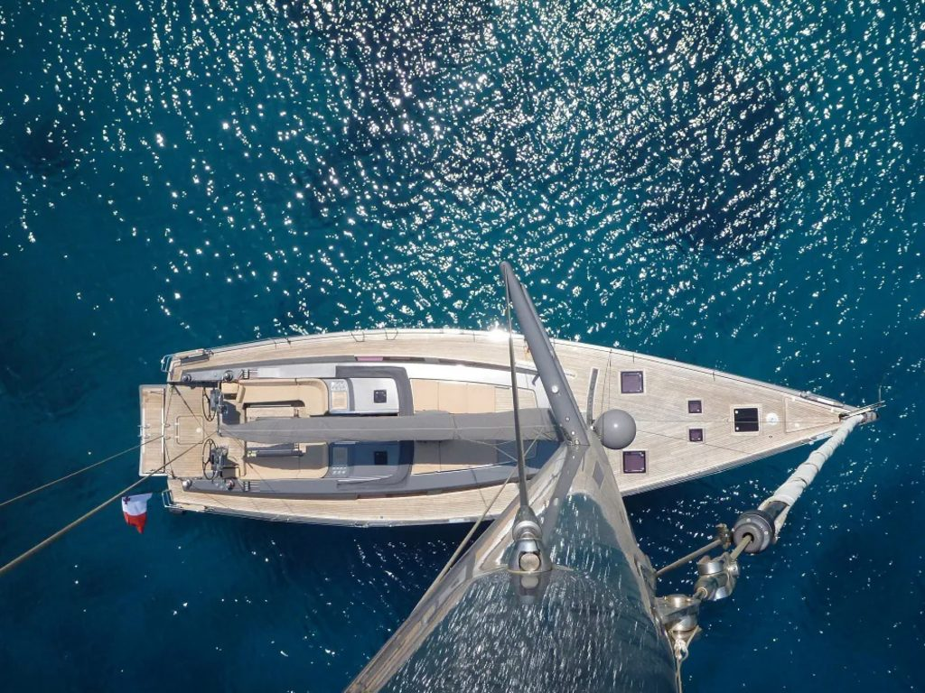 Discover Six of the Best Luxury Yachts for Sale - SY ATHINA V - Above
