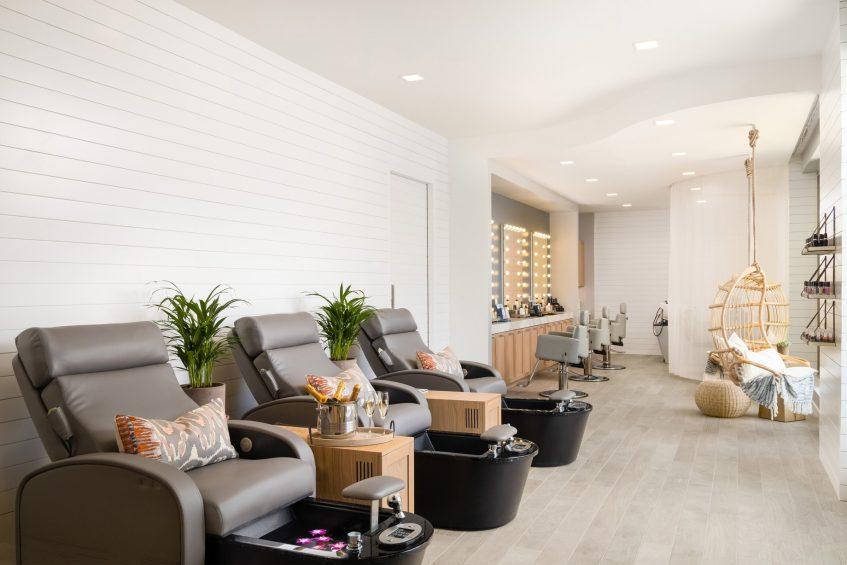 W Scottsdale Luxury Hotel - Scottsdale, AZ, USA - AWAY Spa Lounge Chairs