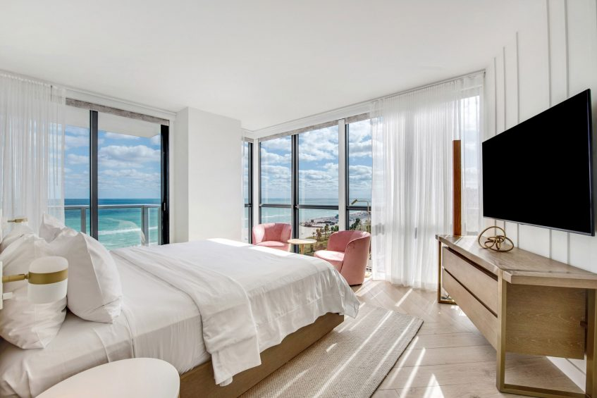 W South Beach Luxury Hotel - Miami Beach, FL, USA - WOW Oceanfront Two Bedroom Suite