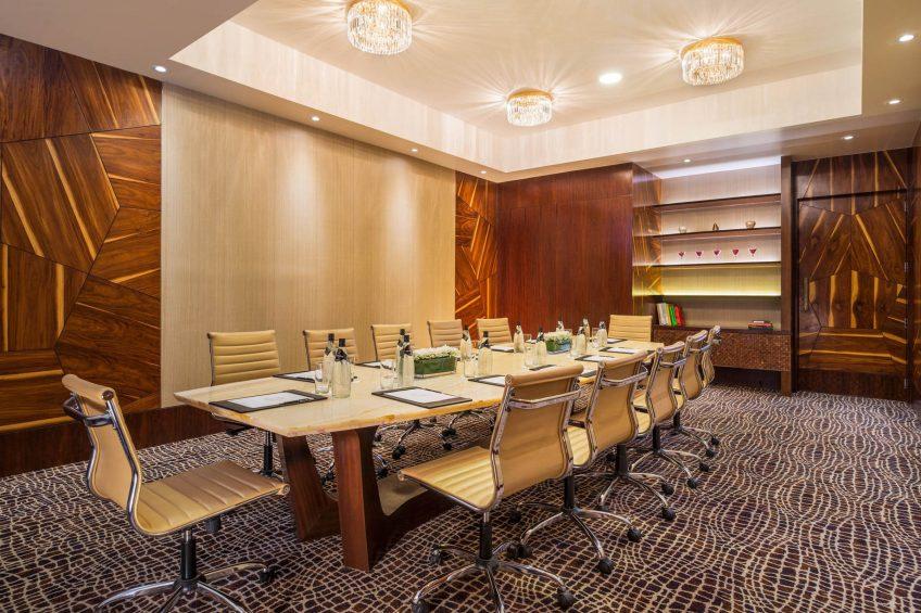 The St. Regis Mumbai Luxury Hotel - Mumbai, India - The Boardroom