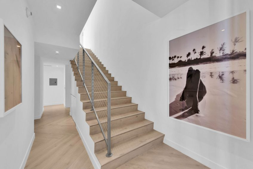 W South Beach Luxury Hotel - Miami Beach, FL, USA - Ocean View Penthouse Suite Stairs