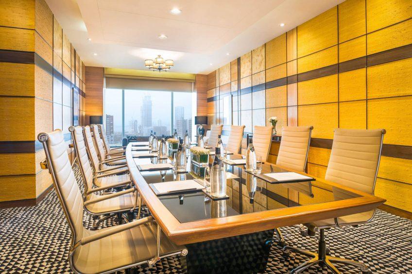 The St. Regis Mumbai Luxury Hotel - Mumbai, India - Boardroom