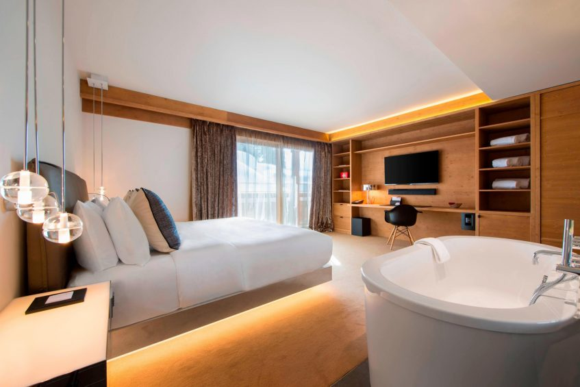 W Verbier Luxury Hotel - Verbier, Switzerland - Residence Bedroom