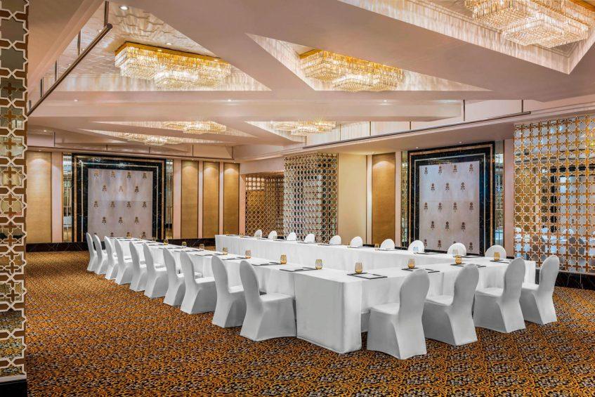 The St. Regis Mumbai Luxury Hotel - Mumbai, India - Alhambra U Shape Setup