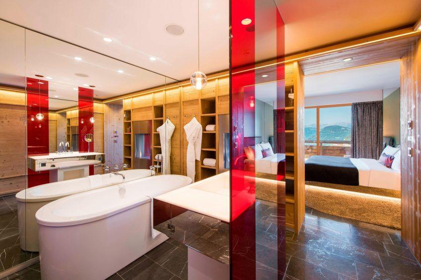 W Verbier Luxury Hotel - Verbier, Switzerland - Spectacular Bathroom_