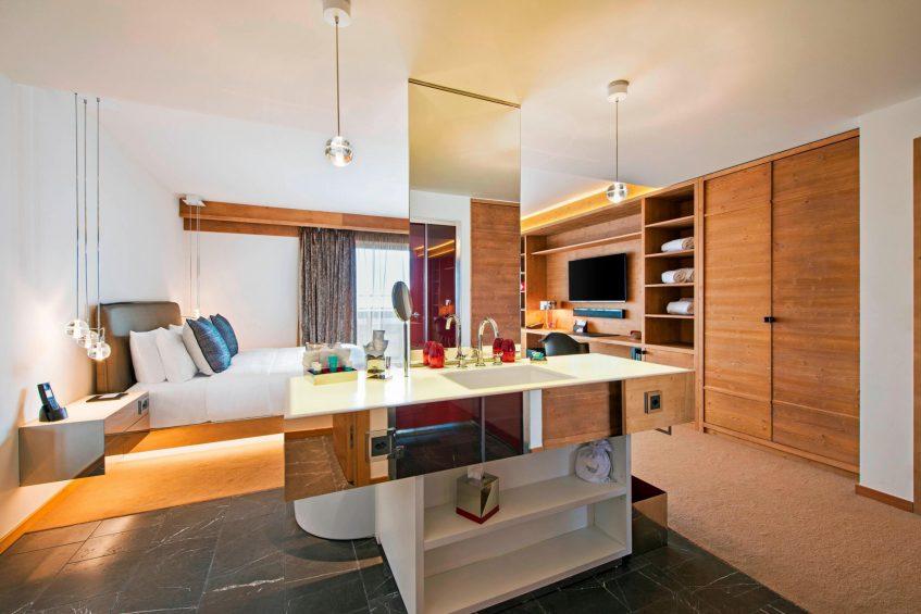 W Verbier Luxury Hotel - Verbier, Switzerland - Spectacular Residence Bedroom