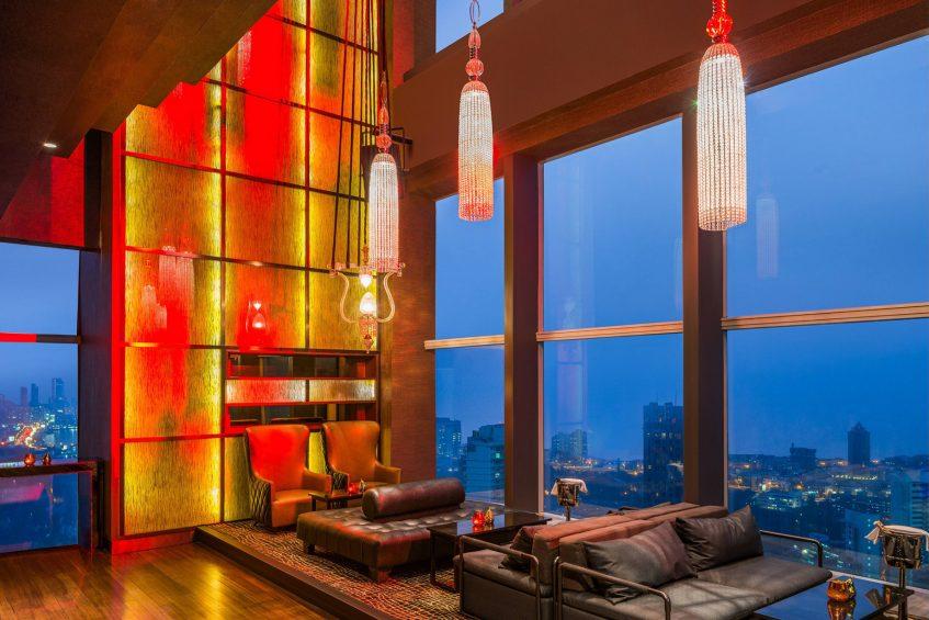 The St. Regis Mumbai Luxury Hotel - Mumbai, India - Night City View