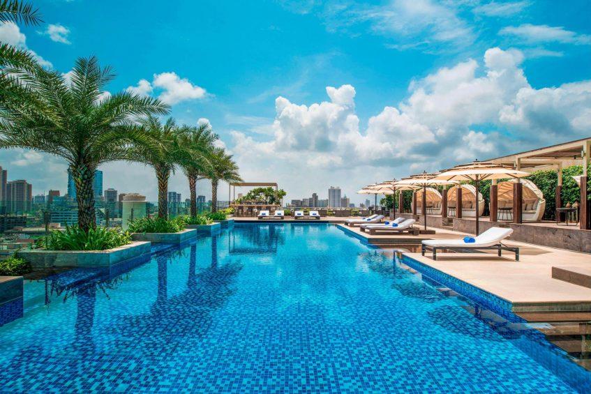 The St. Regis Mumbai Luxury Hotel - Mumbai, India - Swimming Pool