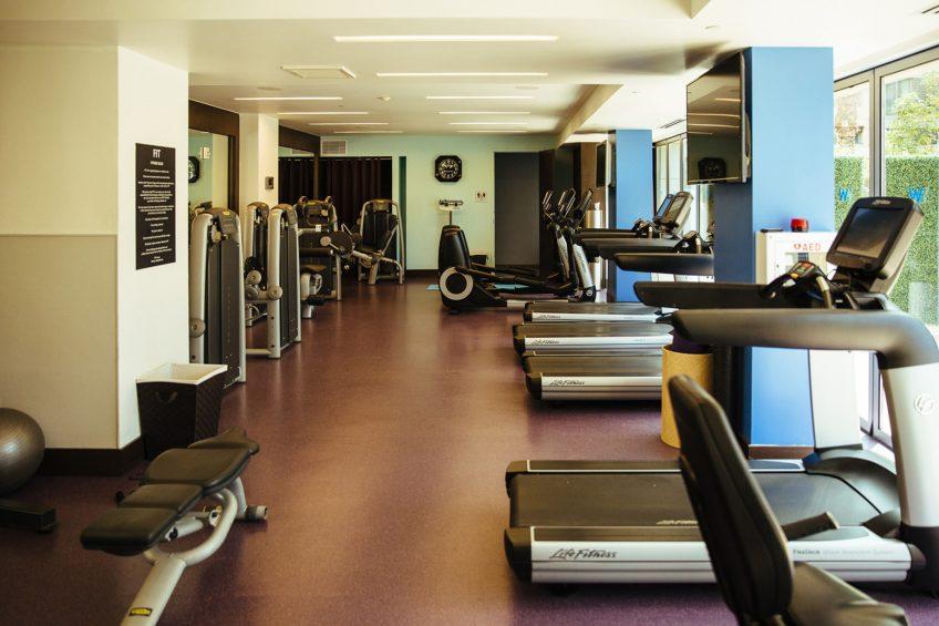 W Scottsdale Luxury Hotel - Scottsdale, AZ, USA - FIT Gym Cardio Machines