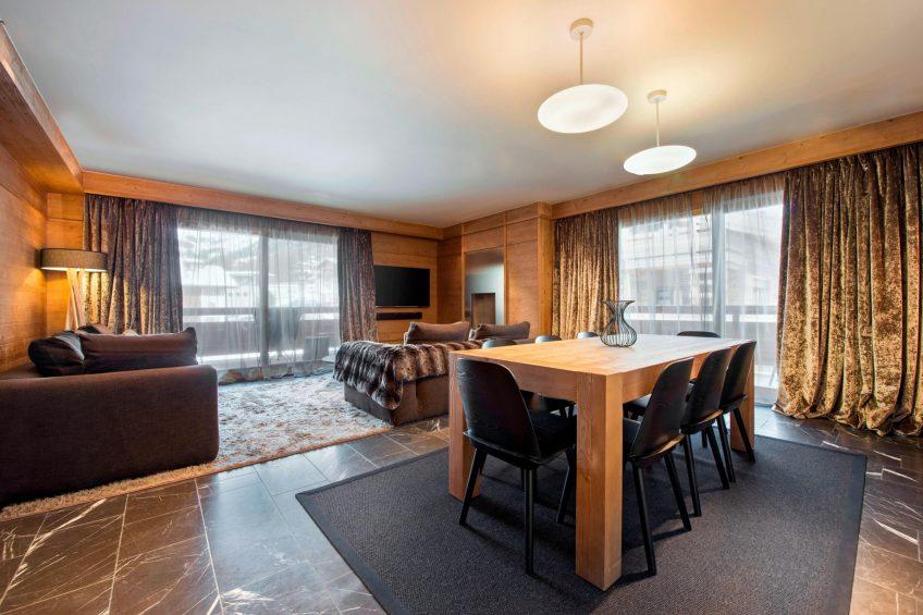 W Verbier Luxury Hotel - Verbier, Switzerland - Spectacular Residence Living Room